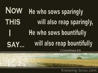 2 Corinthians 9_6