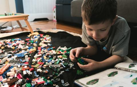 Assembling Legos