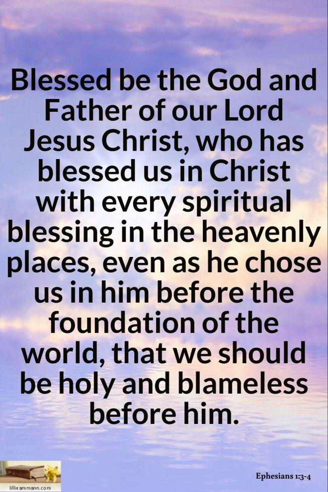 Ephesians 1_3-4
