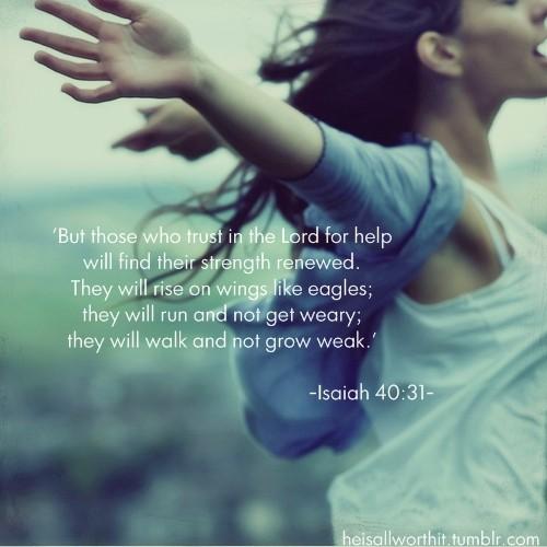 Isaiah 40+31