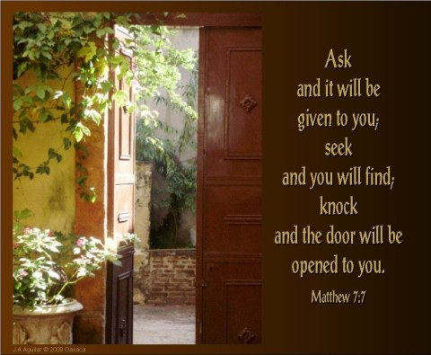 Matthew 7_7