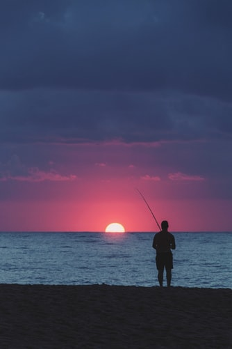 Patience in fishing