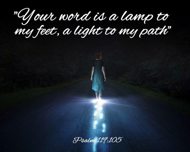 Psalm 119+105