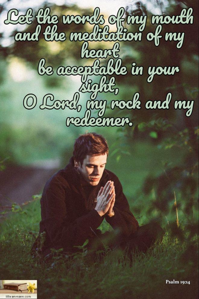 Psalm 19+14