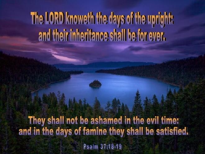 Psalm 37_18-19