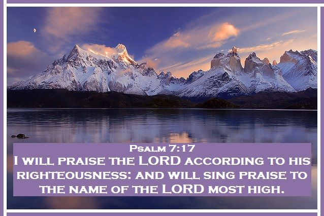Psalm 7+17