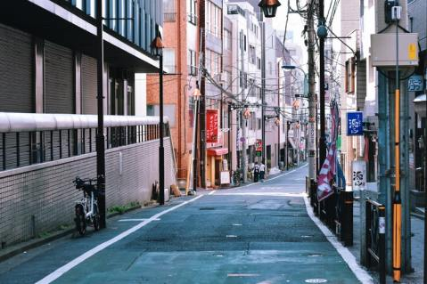 Empty street