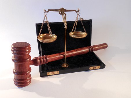 Gavel and measures