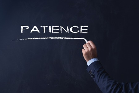 Patience on blackboard