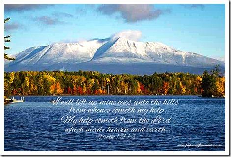 Psalm 121+1-2