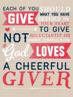 2 Corinthians 9_7