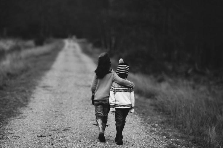 Comforting children