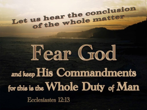 Ecclesiastes 12+13