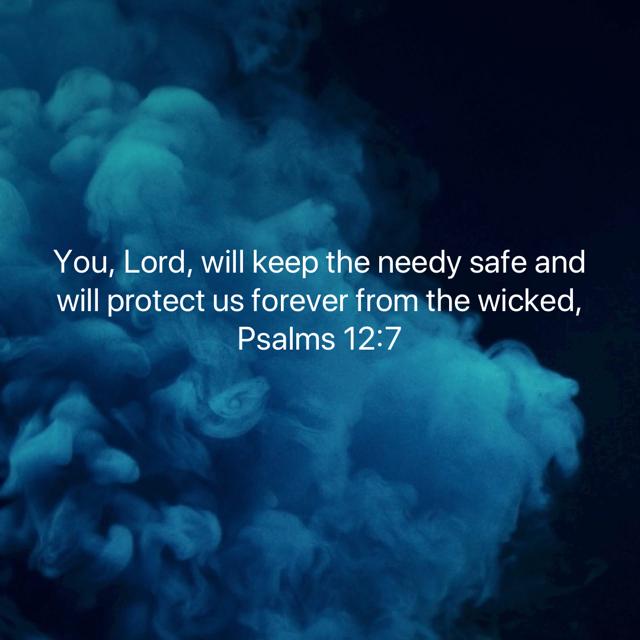 Psalm 12_7