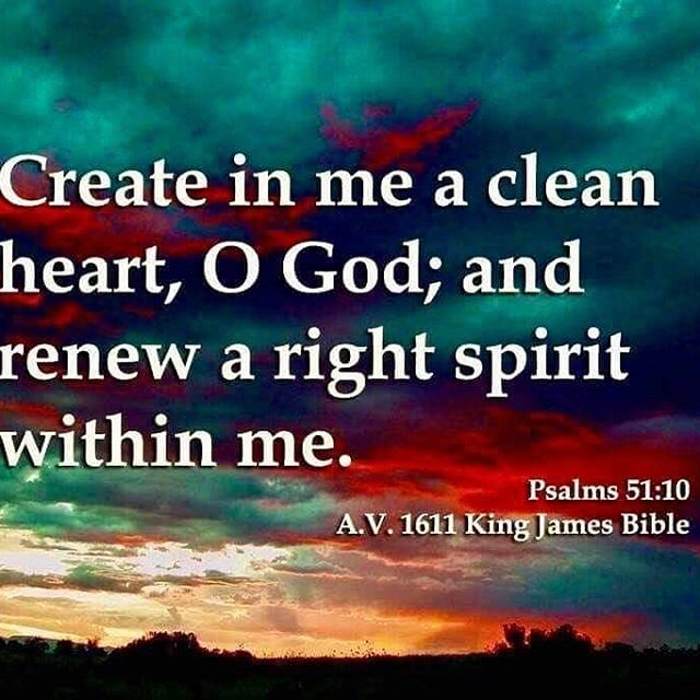 Psalm 51+10