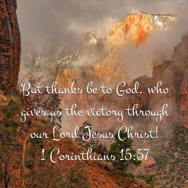 1 Corinthians 15+57
