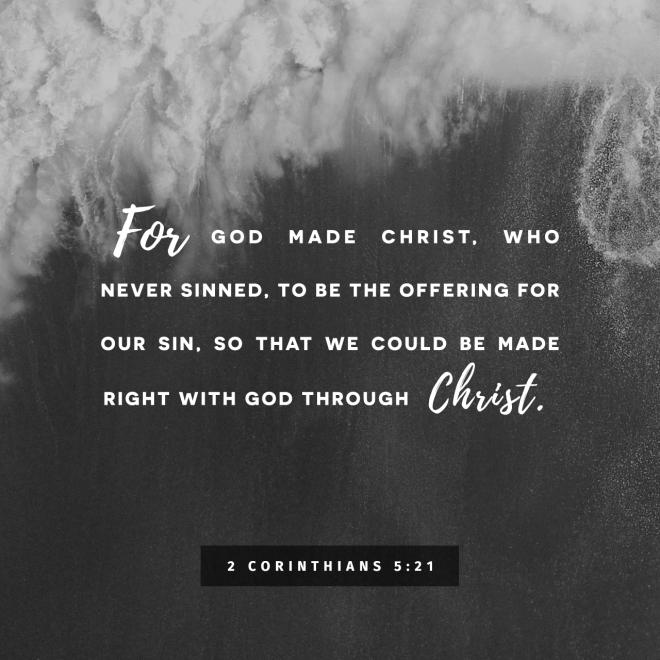 2 Corinthians 5-21