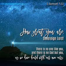 2 Samuel 7-22