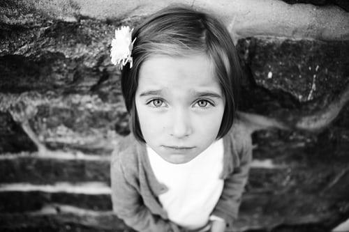 Eager girl