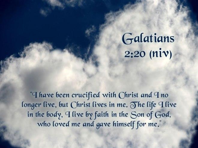 Galatians 2+20