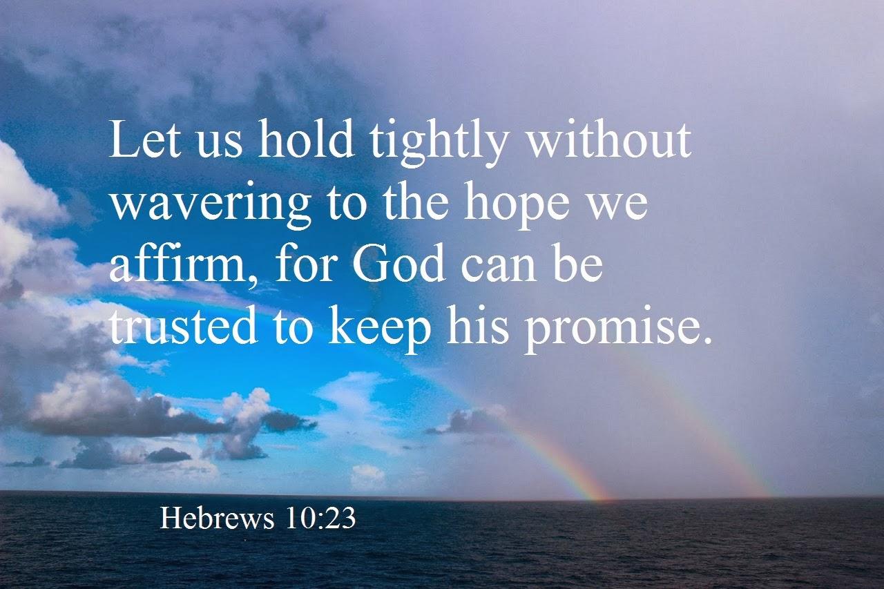Hebrews 10+23