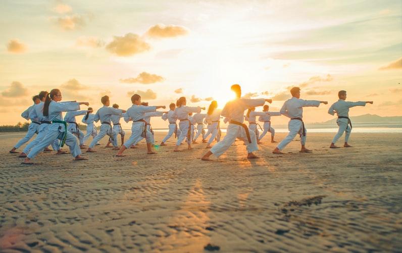 Karate group