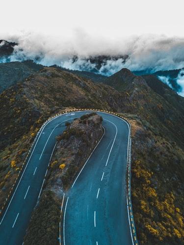 Mountain turn