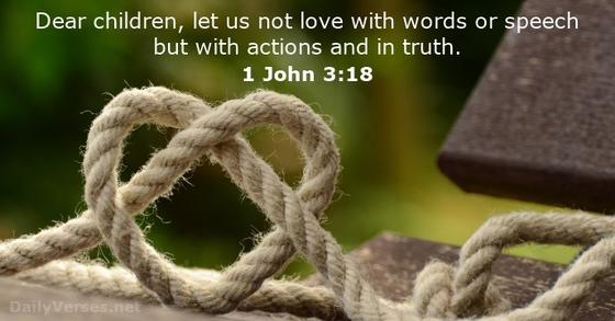 1 John 3-18
