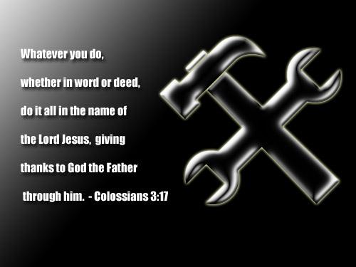 Colossians 3+17