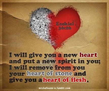 Ezekiel 36+26