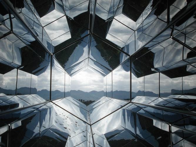 Futuristic building look