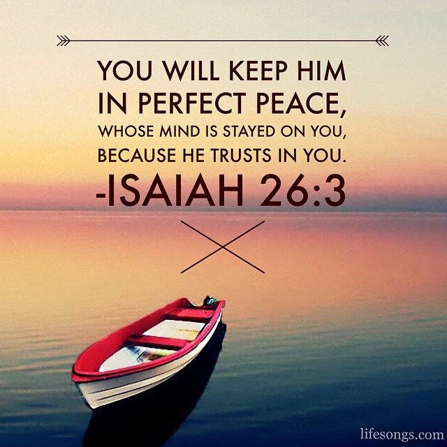 Isaiah 26+3