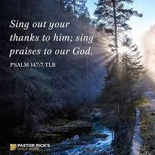 Psalm 147+7