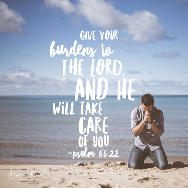 Psalm 55+22