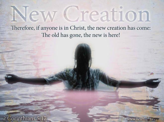 2 Corinthians 5+17