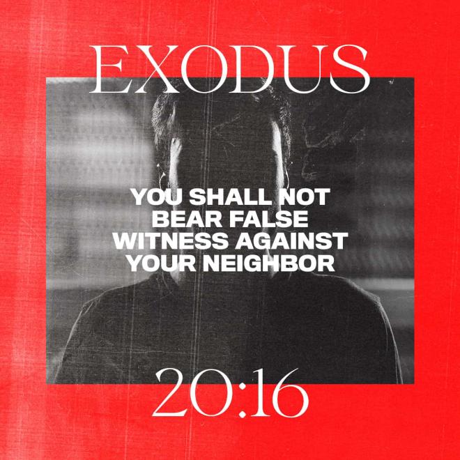 Exodus 20-16