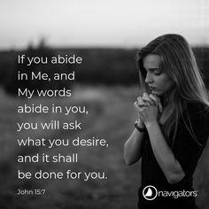 John 15-7