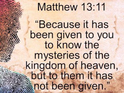 Matthew 13_11