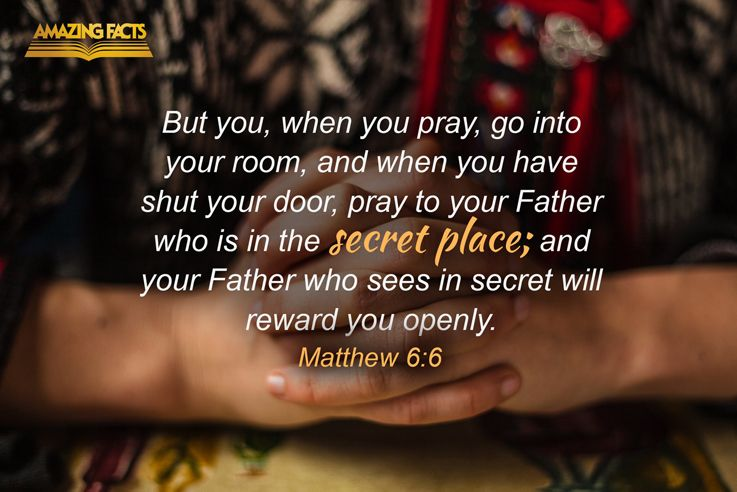 Matthew 6-6