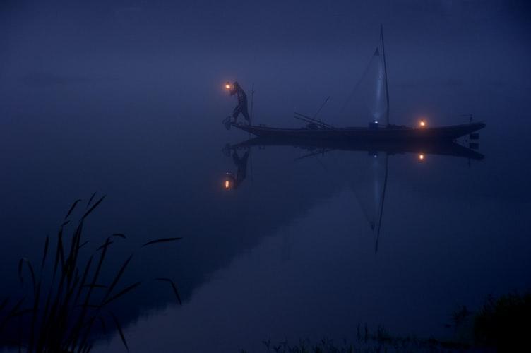 Seeking on a boat