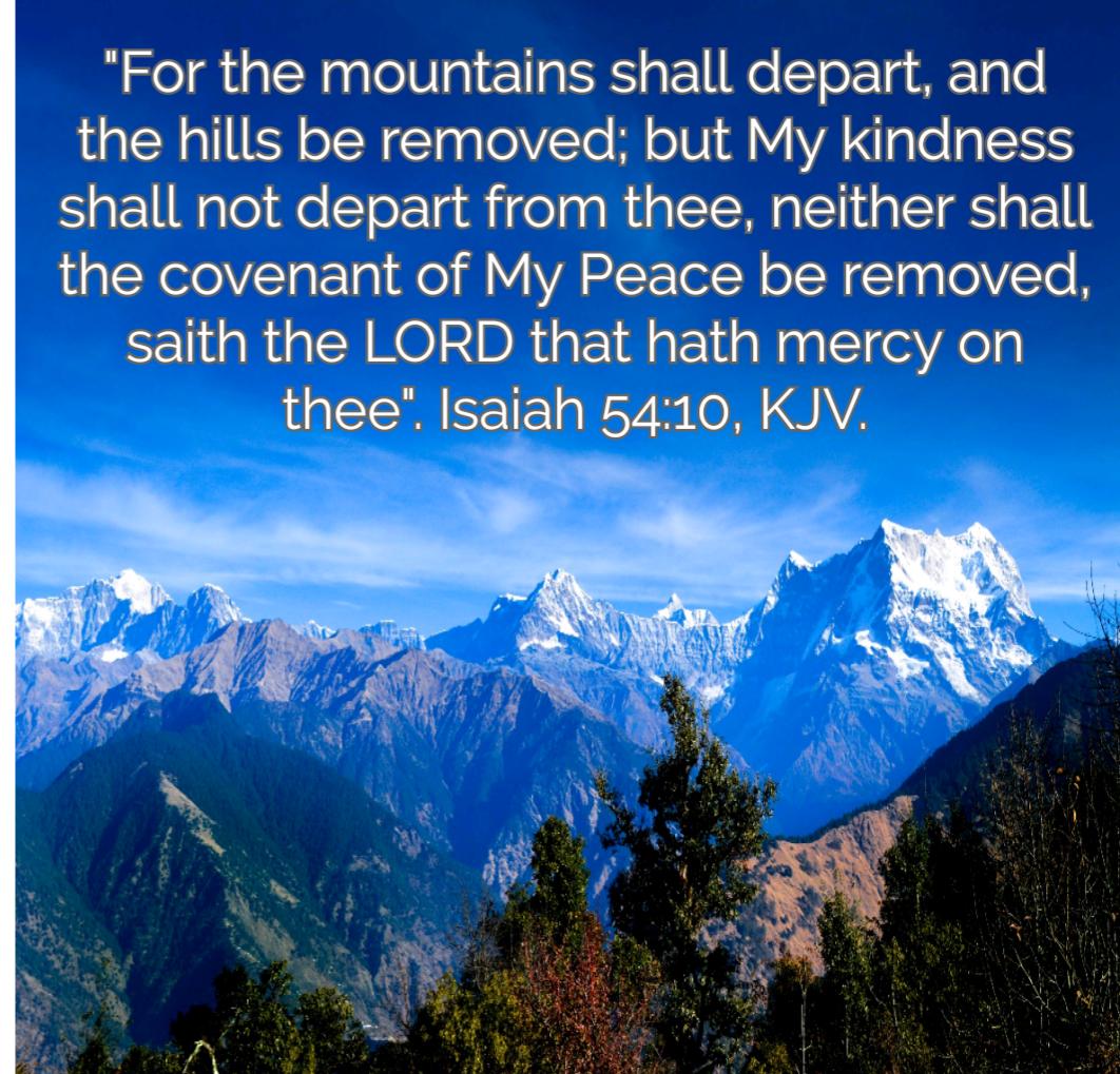 Isaiah 54+10