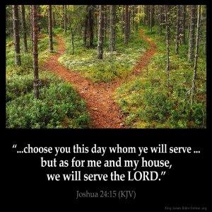 Joshua 24-15