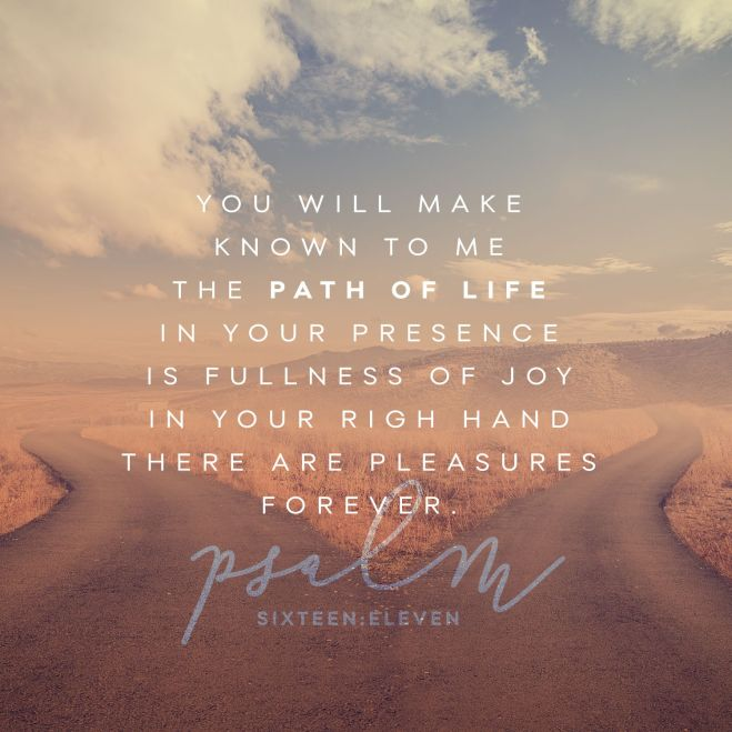 Psalm 16+11